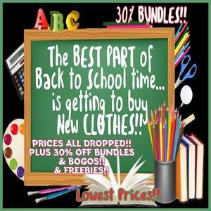 MY LOWEST PRICES & BEST DEALS YET!! 30% Bundling!!